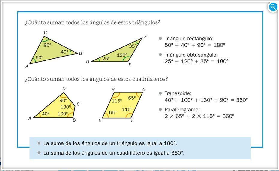 Resultado de imagen de la suma dels angles d'un triangle