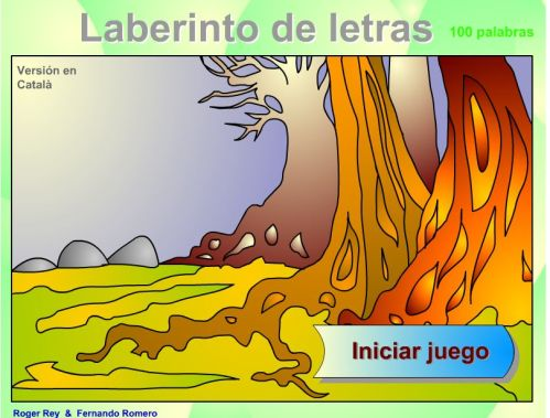 LABERINTO DE PALABRAS