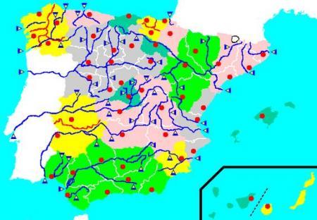 Mapa Rios España Interactivo.Rios De Espana Mapas Y Mapas Interactivos Jugando Y