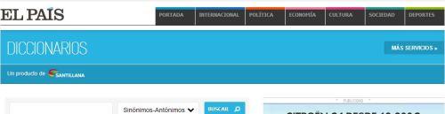 diccionario real academia espaaola on line: