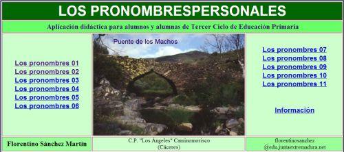 http://cplosangeles.juntaextremadura.net/web/lengua5/pronombrespersonales/indice.htm