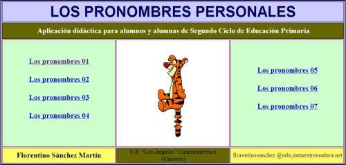 PRONOMBRES PERSONALES | JUGANDO Y APRENDIENDO