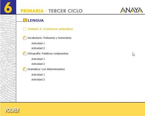 TEMA 3.2. LENGUA 6º