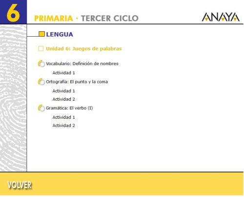 TEMA 6.2. LENGUA