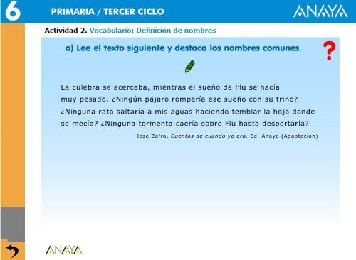 VOCABULARIO. DEFINICIÓN DE NOMBRES2