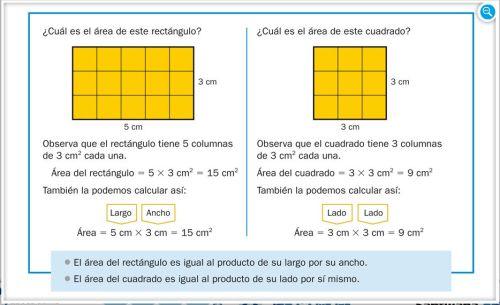 Tema 13 rea de figuras planas jugando y aprendiendo - Como sacar los metros cuadrados de una habitacion ...