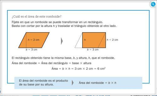 Áreas de figuras planas (I)-EL CLARIÓN DIGITAL