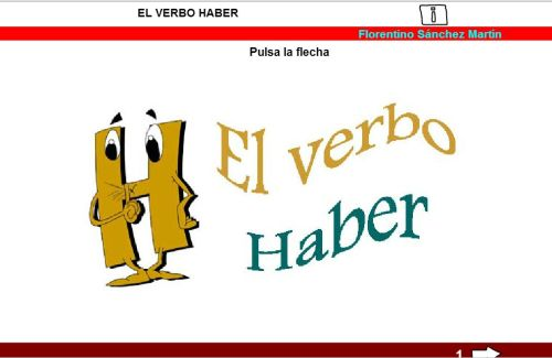 Resultado de imagen de verbos haber ser estar formas verbales