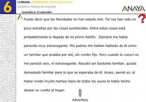 EL ADVERBIO | JUGANDO Y APRENDIENDO