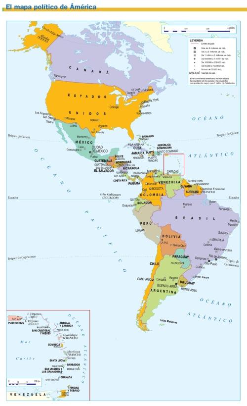 MAPA DE AMÉRICA1