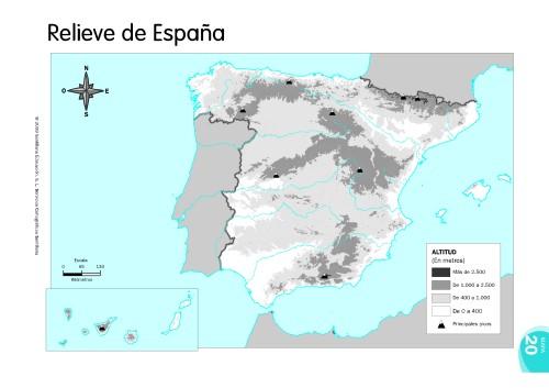 MAPAS DE ESPAÑA. FÍSICOS, POLÍTICOS Y MUDOS   JUGANDO Y APRENDIENDO