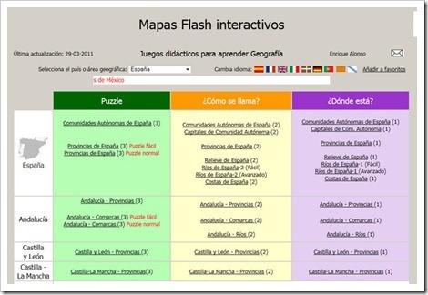 Cartapacio Digital MAPAS INTERACTIVOS FLASH APLICACIONES PARA