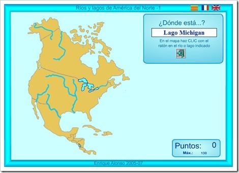 ríos y lagos de américa del norte