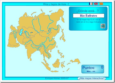 RÍOS Y LAGOS DE ASIA.MAPA INTERACTIVO1