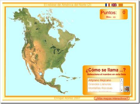 RELIEVE DE AMÉRICA DEL NORTE 2