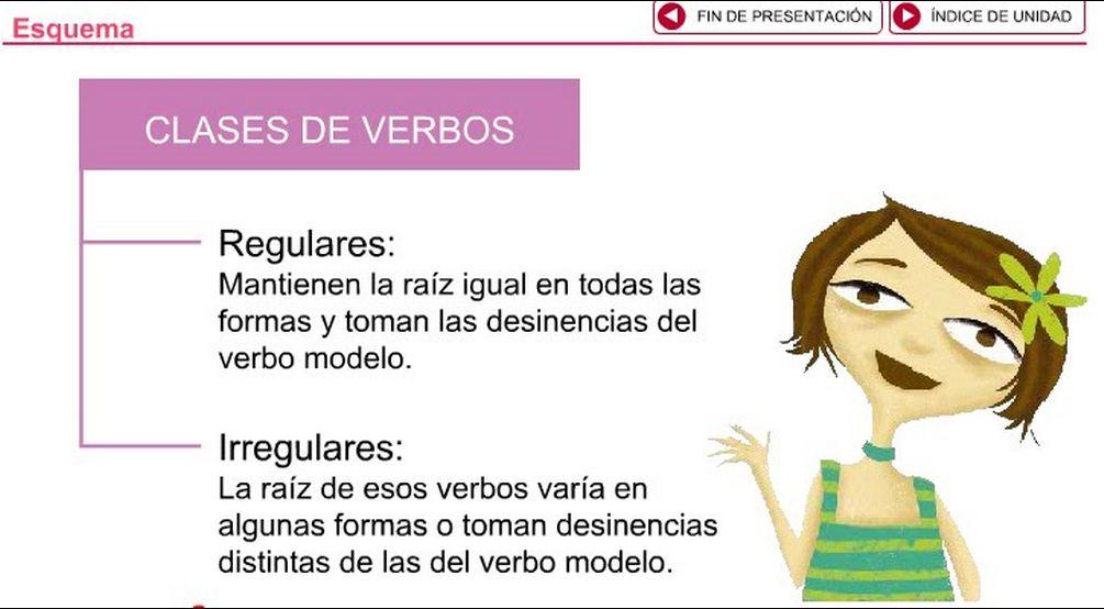 Resultado de imagen de verbos irregulares español