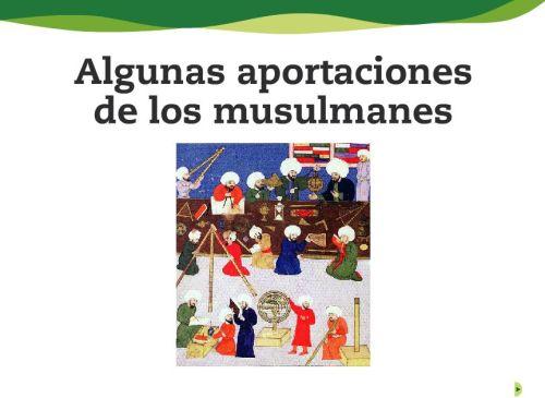 APORTACIONES DE LOS MUSULMANES