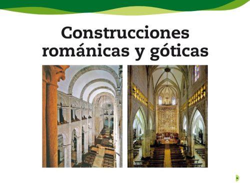 CONSTRUCCIONES ROMÁNICAS Y GÓTICAS1