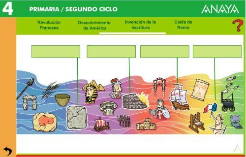 EDADES DE LA HISTORIA.ACTIVIDAD 1
