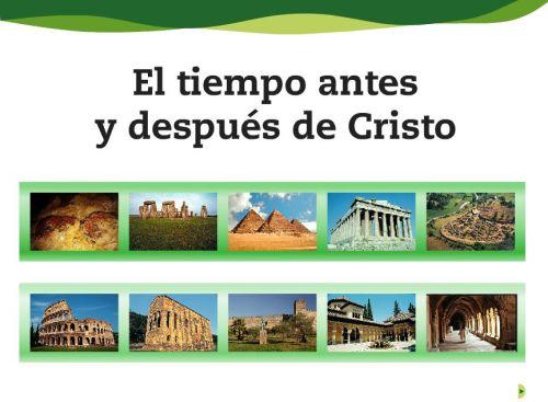 EL TIEMPO ANTES Y DESPUÉS DE CRISTO