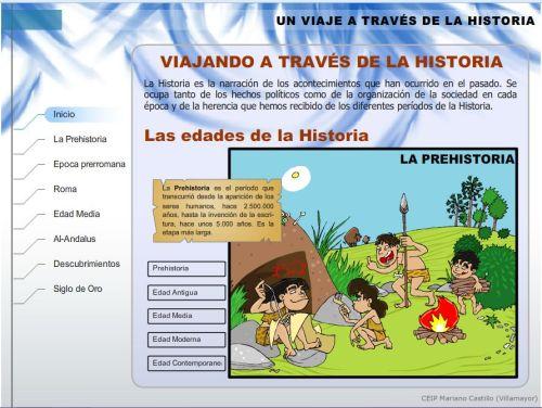 UN VIAJE A TRAVÉS DE LA HISTORIA