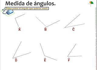 Los ángulos y su medida