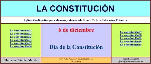 LA CONSTITUCIÓN. AUTOEVALUACIONES