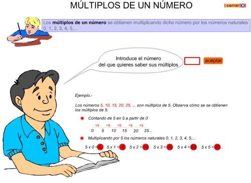 Multiplos de un número