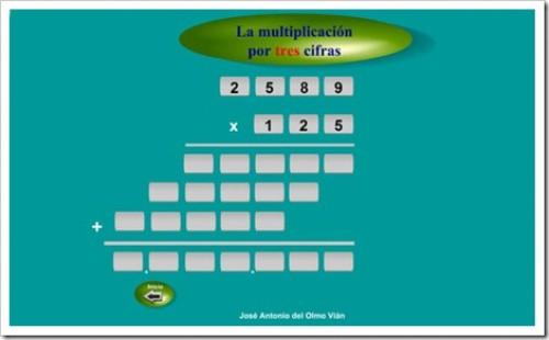 3 Multiplicaciones Jugando Y Aprendiendo