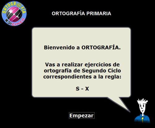 ORTOGRAFÍ A DE LA S Y DE LA X. 2º CICLO DE PRIMARIA Y REPASO PARA 3º CICLO