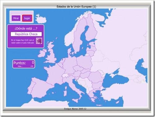 Mapas Interactivos Europa Jugando Y Aprendiendo