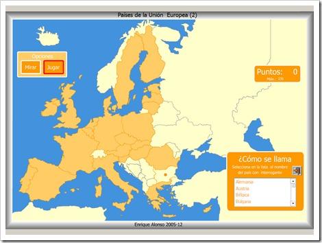 Worksheet. MAPAS INTERACTIVOS EUROPA  JUGANDO Y APRENDIENDO
