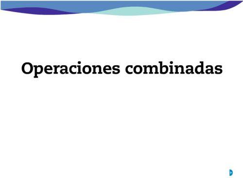 8.OPERACIONES COMBINADAS | JUGANDO Y APRENDIENDO