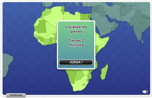 JUEGA CON LOS PAÍSES DE ÁFRICA