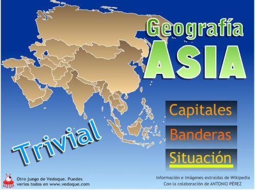 TRIVIAL SOBRE GEOGRAFÍA DE ASIA