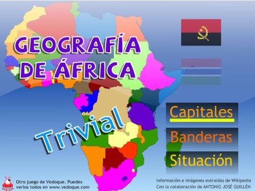 TRIVIAL SOBRE LA GEOGRAFÍA DE ÁFRICA