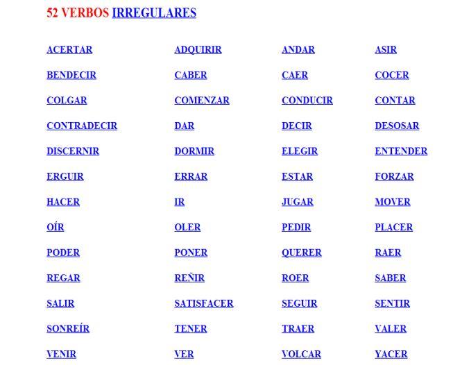 9.1.VERBOS IRREGULARES | JUGANDO Y APRENDIENDO
