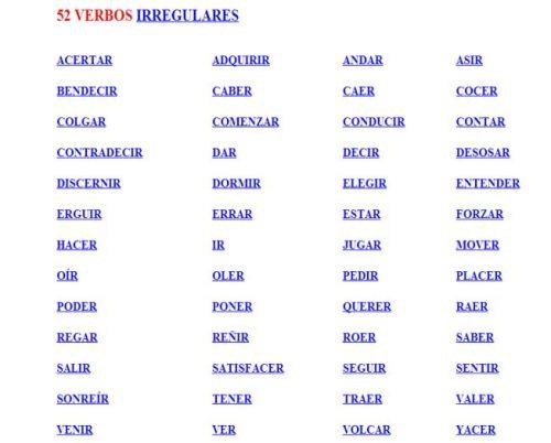 home images 52 verbos irregulares 52 verbos irregulares facebook ...