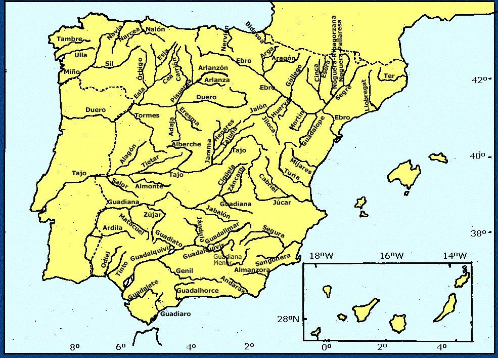 Mapa Interactivo Rios España.Rios De Espana Mapas Y Mapas Interactivos Jugando Y