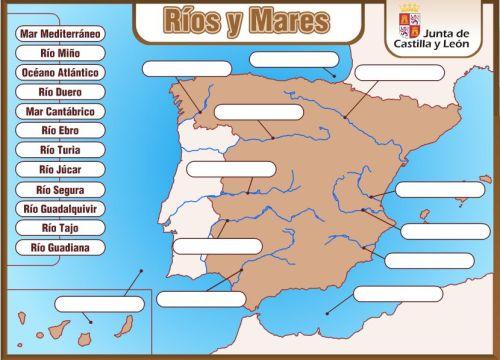 RÍOS Y MARES DE ESPAÑA