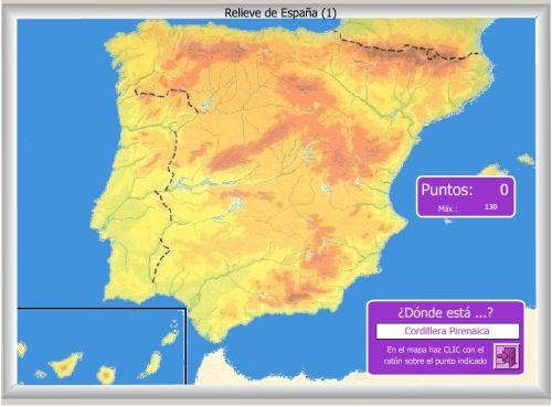 Cabos De España Mapa Interactivo.Mapas Interactivos Jugando Y Aprendiendo