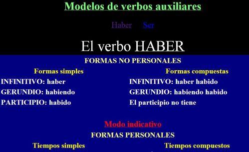 http://roble.pntic.mec.es/msanto1/lengua/1auxilia.htm