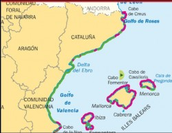COSTA MEDITERRÁNEA DE CATALUÑA Y BALEARES