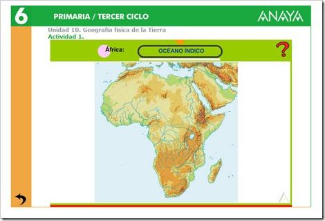 GEOGRAFÍA FÍSICA DE ÁFRICA