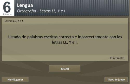 JUEGA CON LA LL Y LA Y