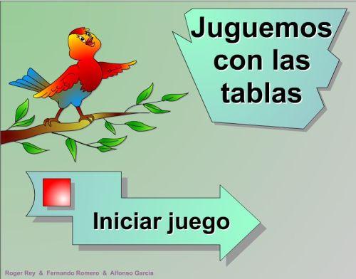 JUEGA CON LAS TABLAS