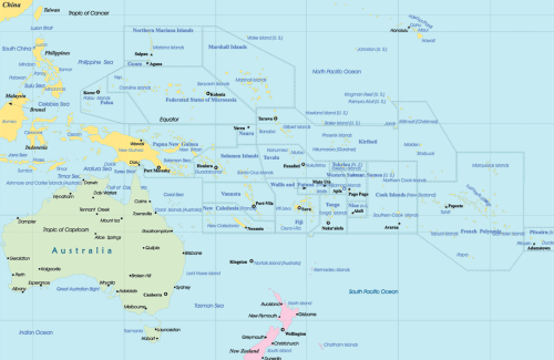 Mapa-Politico-de-Oceania