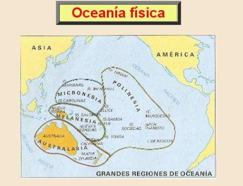 OCEANÍA FÍSICA