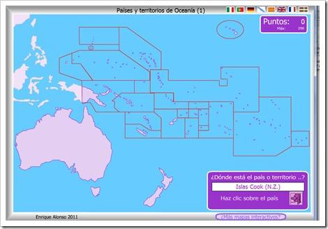 PAÍSES Y TERRITORIOS DE OCEANÍA1