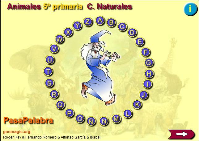 PASAPALABRA.CIENCIAS NATURALES.5º DE PRIMARIA